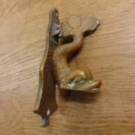 Antique Fish Door Knocker D083-0817 – Antique Doorknocker Company