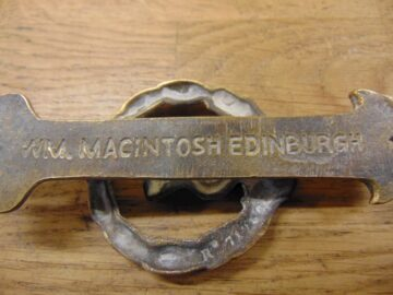 Antique Thistle Door Knocker - D474-1120 Antique Door Knocker Company