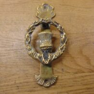 Antique Thistle Door Knocker - D474-1120 Antique Door Knocker Company