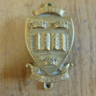 Antique Oxford University Door Knocker D535-0518 - The Antique Door Knocker Company