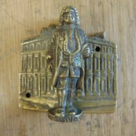 Antique Sir Christopher Wren Door Knocker D536-0518 - The Antique Door Knocker Company