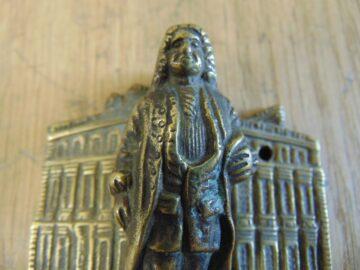 Antique Sir Christopher Wren Door Knocker D536-0518 - The Antique Door Knocker Company
