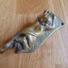 Brass Cherub Door Knocker D546-0618Antique Door Knocker