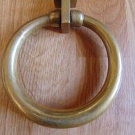 Antique Brass Ring Door Knocker D547-0618 Antique Door Knocker