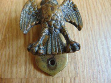 Antique Brass Albatross Door Knocker D548-0818Antique Door Knocker Company.