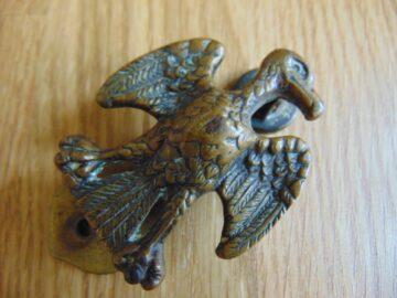 Antique Brass Albatross Door Knocker D548-0818 Antique Door Knocker Company.