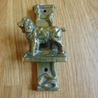Antique Spaniel Dog Door Knocker D549-081 Antique Door Knocker Company8-