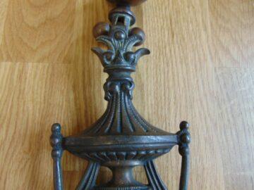 Victorian Brass Urn Door Knocker D550-08Antique Door Knocker Company18-