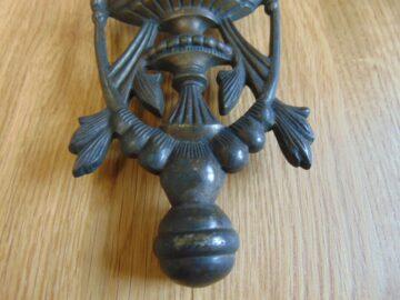 Victorian Brass Urn Door Knocker D550-0818Antique Door Knocker Company-