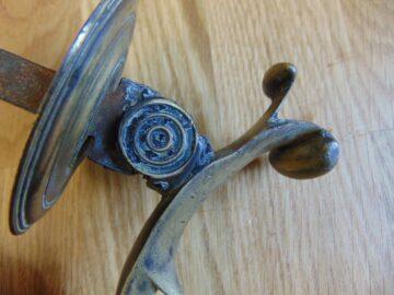 Victorian Brass Doctor Door Knocker D005-0918 Antique Door Knockers.