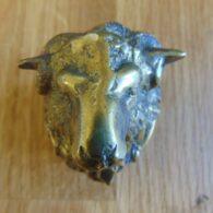 Antique Rams Head Door Knocker D137-0918 Antique Door Knockers.