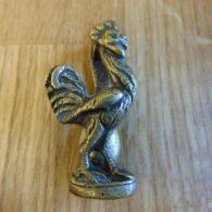 Antique Brass Cockerel/Rooster Door Knocker D148-0918 Antique Door Knockers