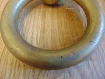 Antique Brass Ring Door Knocker D308-0918 Antique Door Knocker Company.