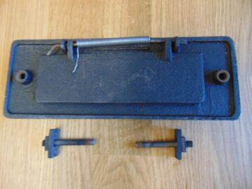 Art Deco Door Knocker and Letterbox D379-0918 Antique Door Knocker Company.