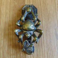 Antique Brass Spider Door Knocker D135-1018 Antique Door Knocker Company.