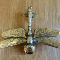 Reproduction Brass Dragon Fly Door Knocker RD027LAntique Door Knocker Company.