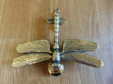 Reproduction Brass Dragon Fly Door Knocker RD027LAntique Door Knocker Company.