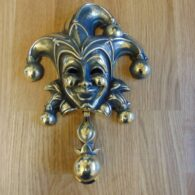 Reproduction 'Jester' Door Knocker RD029 Antique Door Knockers.