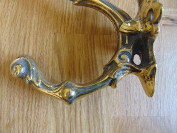 Reproduction Victorian Brass Door Knocker RD036 Antique Door Knocker Company.
