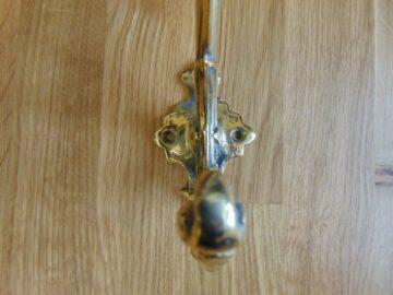 Reproduction Victorian Brass Door Knocker RD036Antique Door Knocker Company.