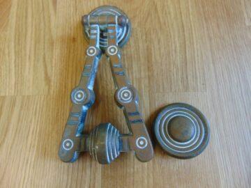 Antique Arts & Crafts Door Knocker D105 1118 Antique Door Knocker Company