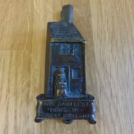 The Smallest House in Great Britain Door Knocker D131-1118 Antique Door Knockers