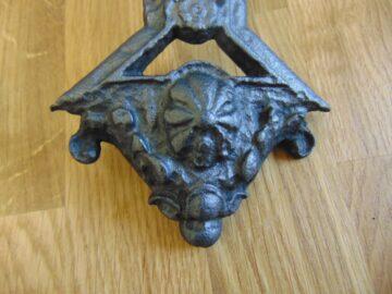 Attractive Victorian Cast Iron Door Knocker D244L 1118 Antique Door Knocker Company
