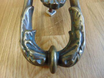 Original Victorian Door Knocker D400L 1118 The Antique Door Knocker Company