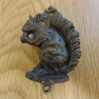 Antique Brass Squirrel Door Knocker D050-0119 Antique Door Knocker Company