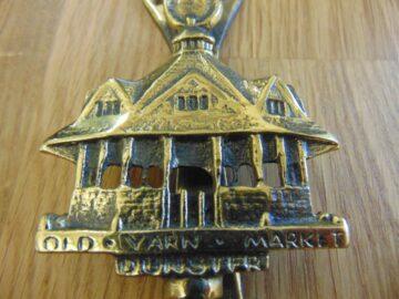 The Old Yarn Market, Dunster Door Knocker D290-0119 Antique Door Knocker Company