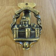 Antique Windsor Castle Door Knocker D478-0119 Antique Door Knocker Company