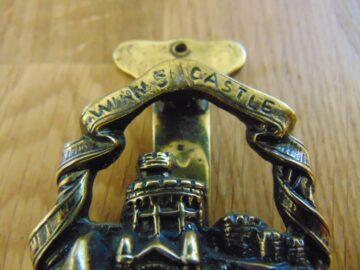 Antique Windsor Castle Door Knocker D478-0119 Antique Door Knocker Company