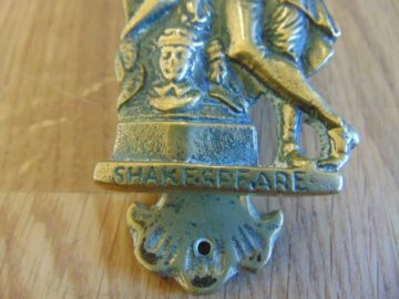 William Shakespeare Door Knocker D010-0219 Antique Door Knocker Company