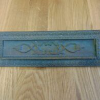 Victorian Brass Letterbox D283L-0219 Antique Door Knocker Company