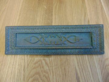Victorian Brass Letterbox D283L-0219 Antique Door Knocker Company