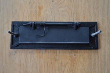 Victorian Cast Iron Letter Box D005L-0319 Antique Door Knockers