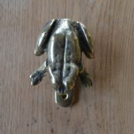 Reproduction Brass Frog Door Knocker RD002 Antique Door Knocker Company.