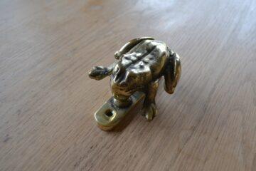 Reproduction Brass Frog Door Knocker RD002 Antique Door Knocker Company.