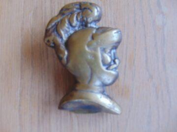 Antique Knights Head D120-0619 Antique door Knocker Company