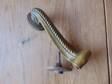 Edwardian Drop Door Knocker D227-0519 Antique Door Knocker Company