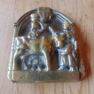 Antique Durham Cow Door Knocker D051-0619 Antique Door Knocker Company