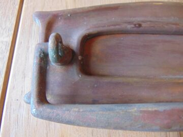 Original Copper Letterbox D551-0619 Antique Door Knocker Company