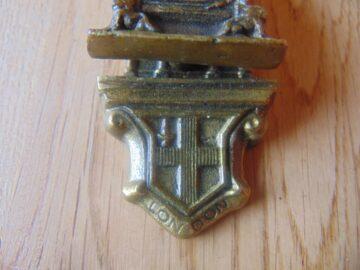 Antique Westminster Abbey Door Knocker D557-0619 Antique Door Knocker Company