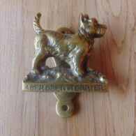 Antique Aberdeen Terrier Door Knocker D559-0619 Antique Door Knocker Company