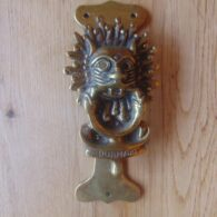 Antique Durham Door Knocker D562-0619 Antique Door Knocker Company