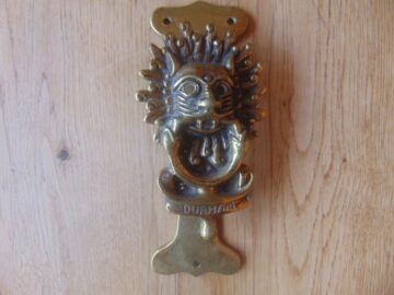 Antique Durham Door Knocker D562-0619 Antique Door Knocker Company