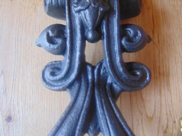 Victorian Cast Iron Door Knocker D564-0619 Antique Door Knocker Company