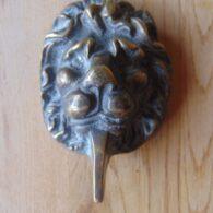 Lions Head Door Knocker D566-0719