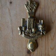 Ludlow Castle Door KnockerD191-0919