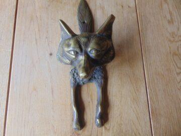 Fox Door Knocker D453L-0919